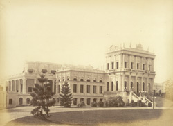 Belvedere, Calcutta. The Lieut Governor of Bengal's official residence